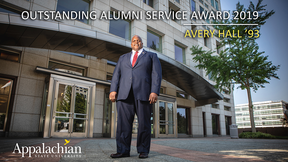 Alumni Award example slide
