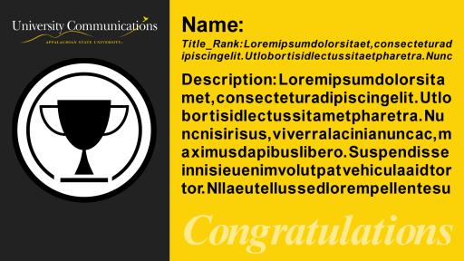 Template: Award Icon