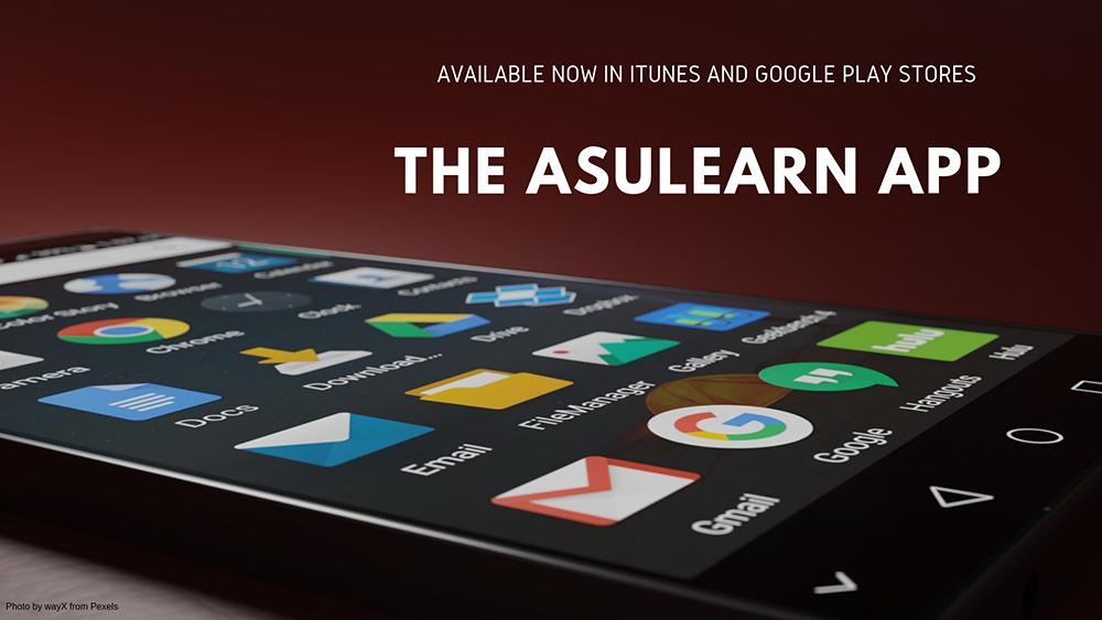 Example Slide AsuLearn App